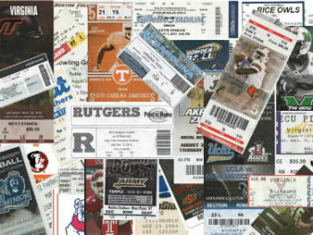 Ticket Collage