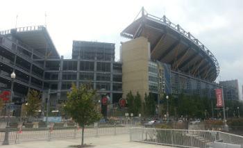 Pitt Stadium Front