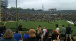 Purdue Stadium shot from endzone