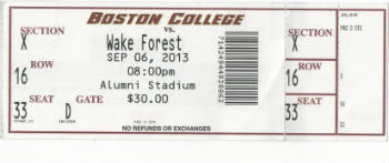 Boston College vs Wake