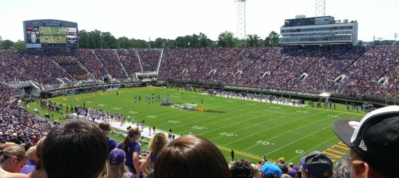 ECU Full stadium