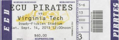 ECU Ticket