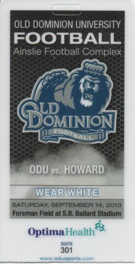ODU ticket
