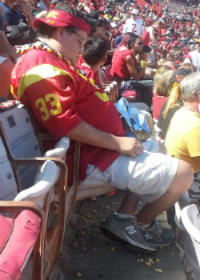 USC Sleeping Fan