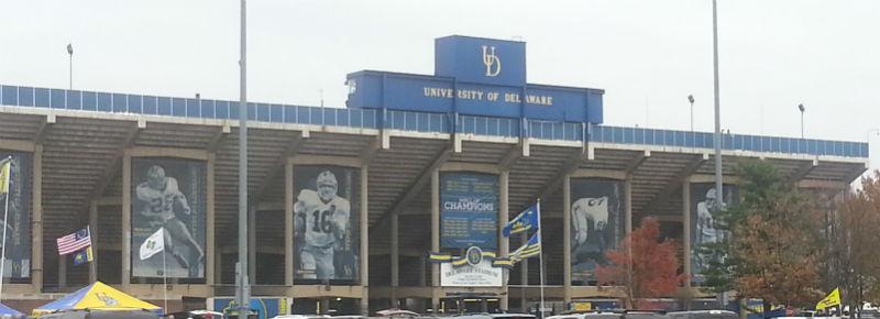 DE Stadium Front