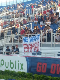 FAU wants Bama 2013