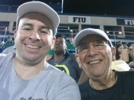 FIU Matt and Dad 2013