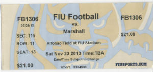 FIU Ticket