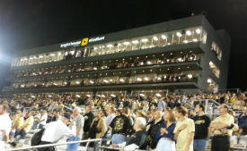 UCF Fans and Press box 2013