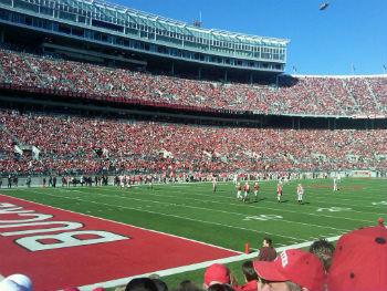 Ohio State Field Endzone