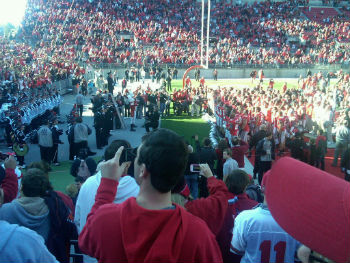 Ohio State Team thanks fans