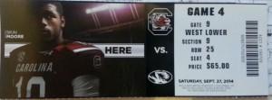 South Carolina Ticket web