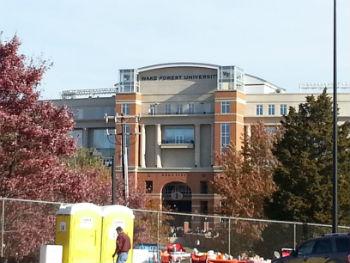 Wake Forest Stadium Entrance web