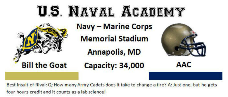 Navy Ram Banner