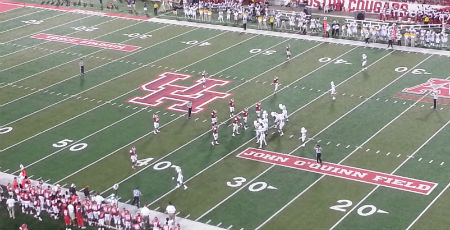UofH onfield action final