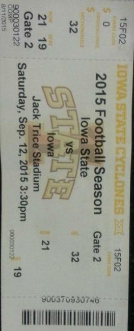 ISU Ticket web