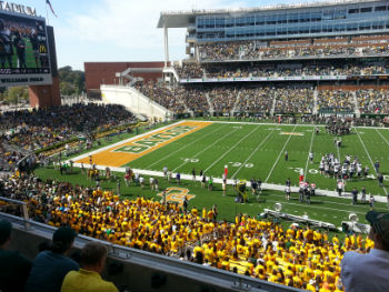 Baylor Student Section web