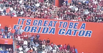 Florida Great to be Gator web