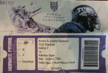 TCU Ticket Web
